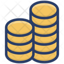 Coins Stack Dollar Coins Currency Coins Icon
