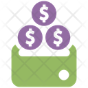 Coin Stack Money Investment Icon