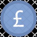 Coins Stack Pound Icon
