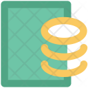 Coins Business Paper Icon