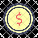 Coins Cash Money Icon