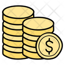 Coin Stack Money Stack Coin Pile Icon