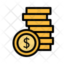 Coins Coins Stack Finance Icon