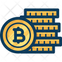 Coins Blockchain Cryptocurrency Icon
