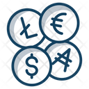 Coins Currency Finance Icon