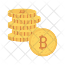 Coins Earning Saving Icon