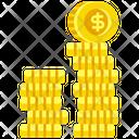 Coins Money Cash Icon