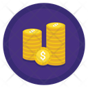 Coins Star Coin Icon