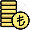 Coins Lira Coin Icon