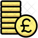 Coins Pound Coin Icon