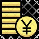 Coins Yen Coin Icon