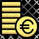 Coins Euro Coin Icon
