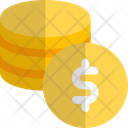 Coins Dollar Icon
