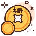 Coins Currency Chinese Coin Icon