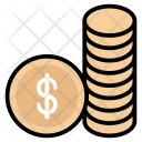 Cash Cent Coin Icon