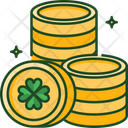 Coins Money Cash Icon