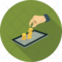 Coins Money Business Icon