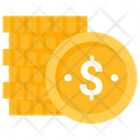 Dollar Coins Coins Business Icon