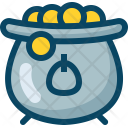 Coins Kettle Kettledrum Icon
