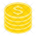 Coins Dollar Gold Icon