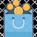 Coins bag Icon