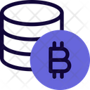 Coins Bitcoin Icon