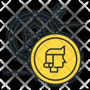 Coins Collector Icon