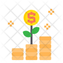 Money Growth Graph Growth Icon