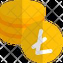 Coins Litecoin Icon