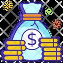 Coins Sack Money Sack Money Pouch Icon