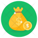 Coins Sack Currency Sack Money Sack Icon