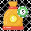 Coins Sack Money Bag Money Sack Icon