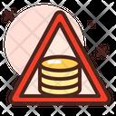 Coins Signboard Icon