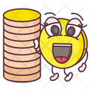 Coin Stack Currency Money Icon
