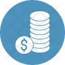 Coins Stack Currency Finance Icon