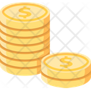 Coins Coins Stack Money Icon