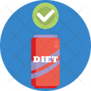 Keto Diet Coke Diet Healthy Icon