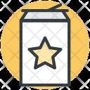 Cola Tin Pack Icon