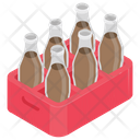 Cola Crate Soda Drink Soft Drink Icon