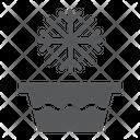 Cold Water Temperature Icon