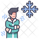Cold Person Winter Icon