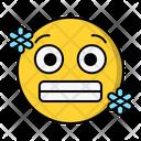Cold Temperature Face Icon