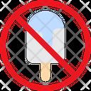 Cold Sweet Ice Cream Icon