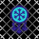 Cold Air Icon