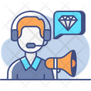 Cold Calling Business Calling Icon