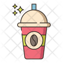 Iced Coffee Cold Coffe Drink Icon