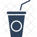 Cold Coffee Disposable Cup Juice Cup Icon