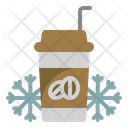 Cold Coffee Cafe Coffee Icon
