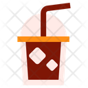 Cold Coffee Iced Coffee Iced Icon