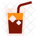 Cold Coffee Iced Coffee Icon